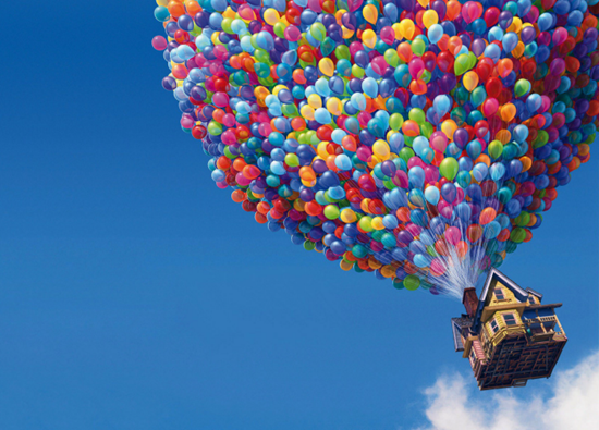 Famous balloon experiement documented in a Disney movie