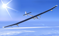 Solar Impulse 2 - solar-powered airplane that hopes to fly around the world