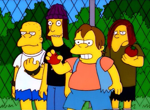 Simpsons school yard bullies