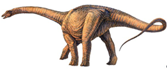 The new giant dinosaur found is very simliar to the previous record holder, Argentinosaurus