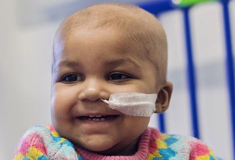 One-year-old Layla Richards cleared of cancer