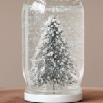 Make a Christmas-time glitter globe (aka snow globe)