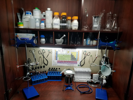 Home chemistry lab