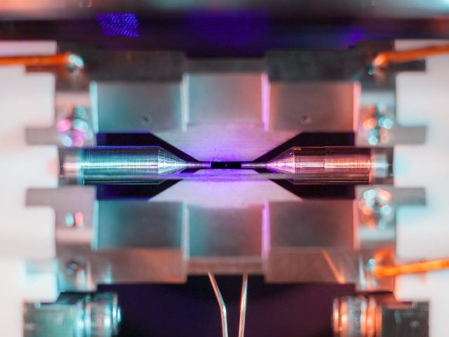 Scientist captures picture of a single atom using a normal DSLR camera.