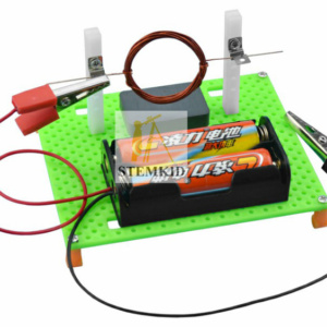 Electric motor principles kit - DIY physics science experiment kit
