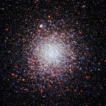 Nearly spherical globular star cluster Caldwell 84