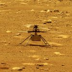 NASA's historic first flight of the Ingenuity Mars Helicopter on Mars